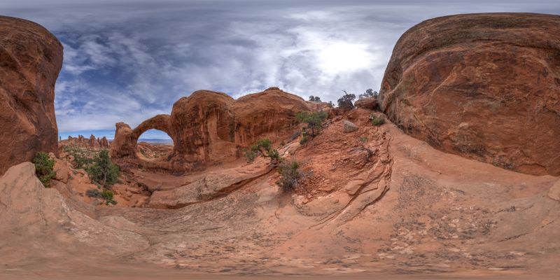 Arches – Double-O-Arch Panorama