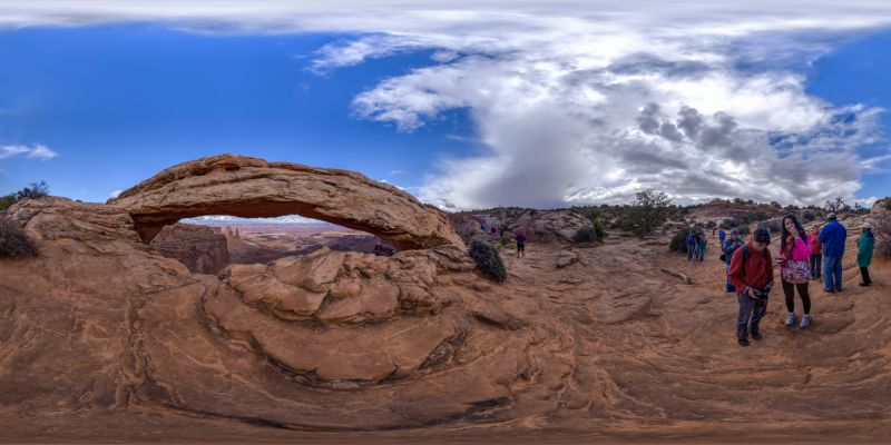 Canyonlands – Mesa Arch Panorama
