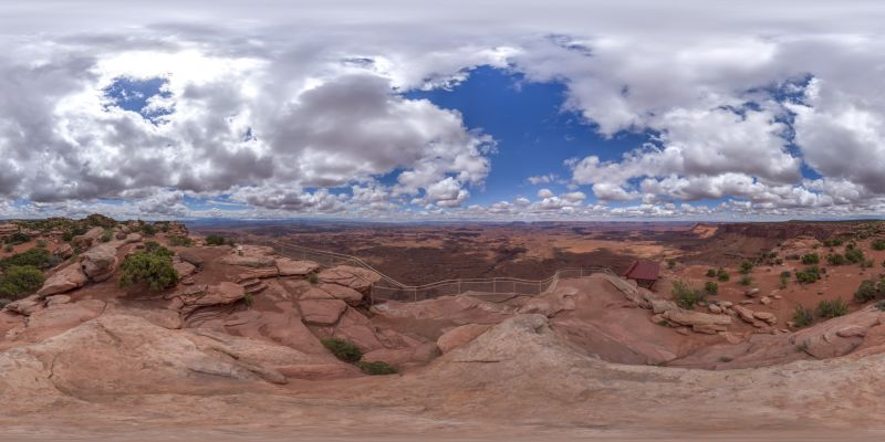 Canyonlands – Needles Overlook Panorama