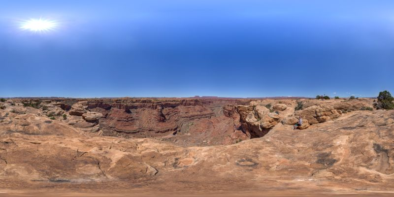 Canyonlands – Slick Rock Panorama